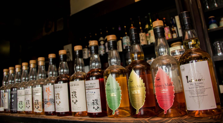 ウィスキー「イチローズ・モルト」も各種取り揃えております。