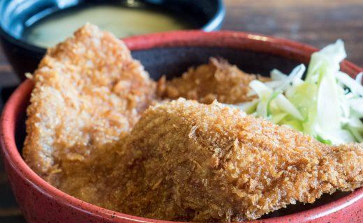 和食と豚みそ丼ちんばたのわらじかつ丼 ランチメニュー