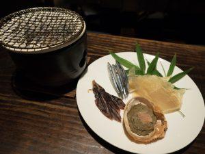 和食と豚みそ丼ちんばたの卓上七厘イメージ
